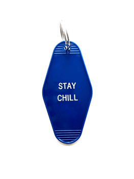 Hotel-Motel Key Chain Stay Chill - La Clé