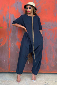 Midnight Harem Jumpsuit