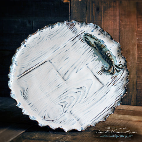 Blue Crawfish (Krevis Blé) Serving Plate