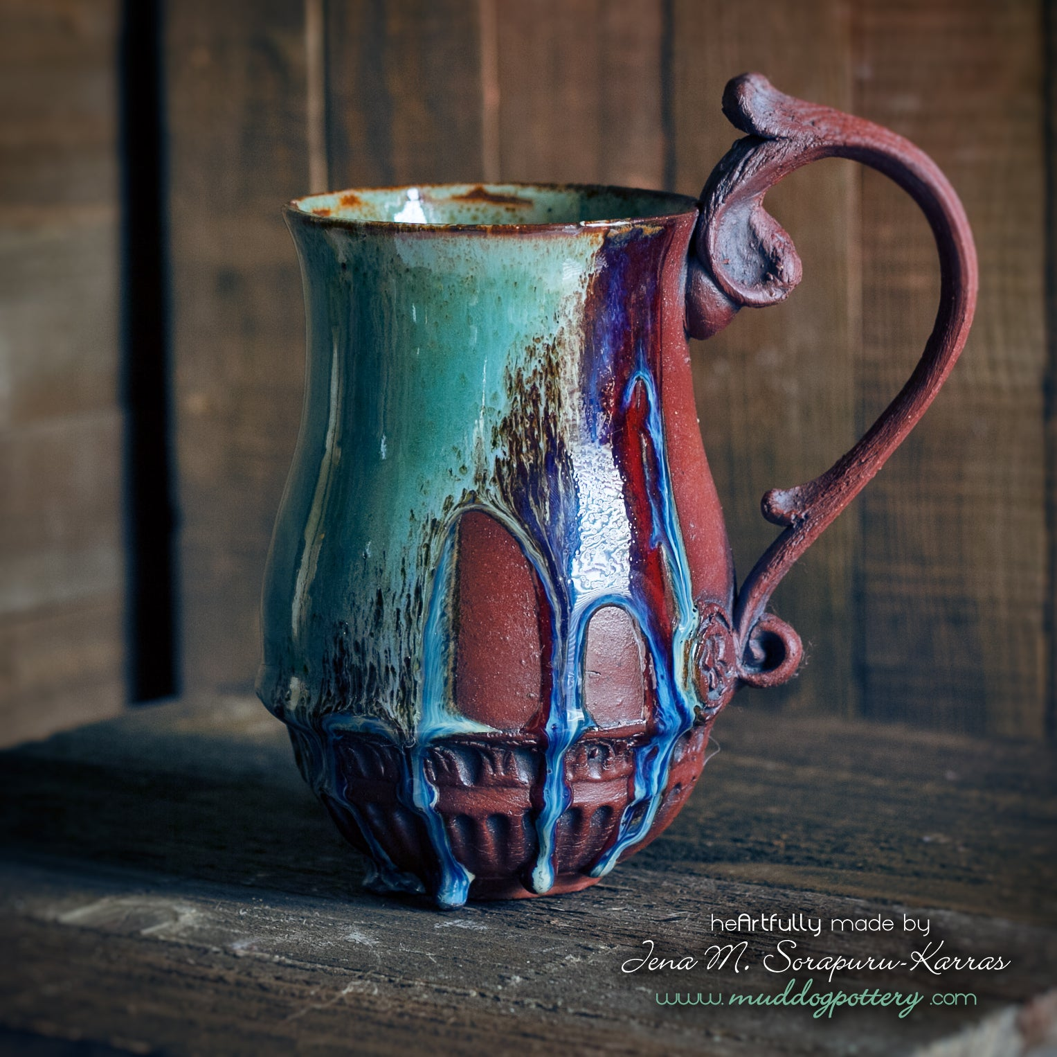Bayou Rain Coffee Mug ( The Creole Courtyard Collection )
