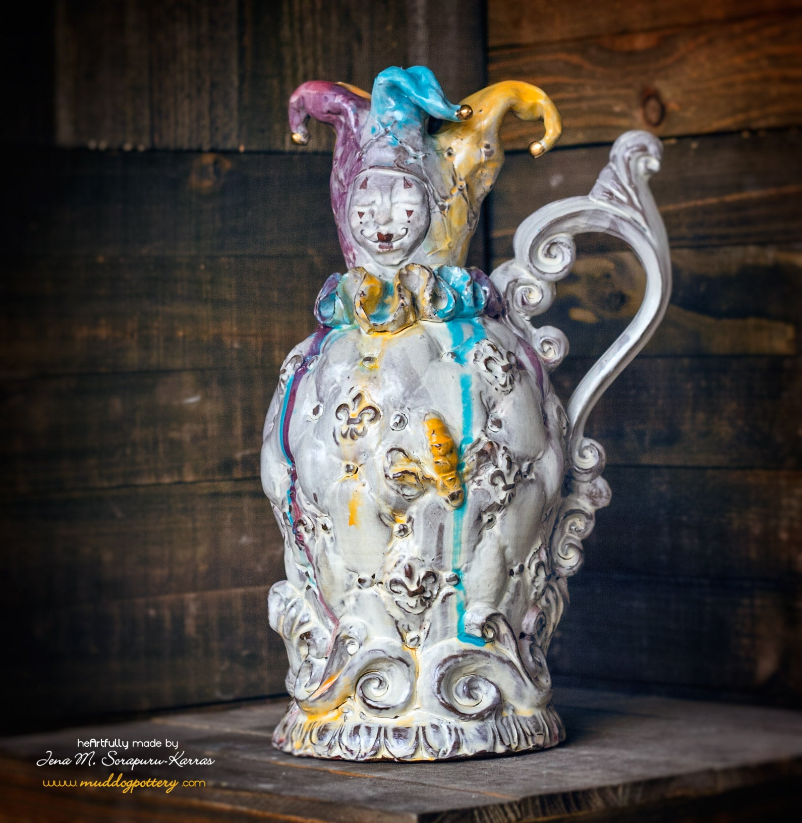 Jester Jug/Decanter