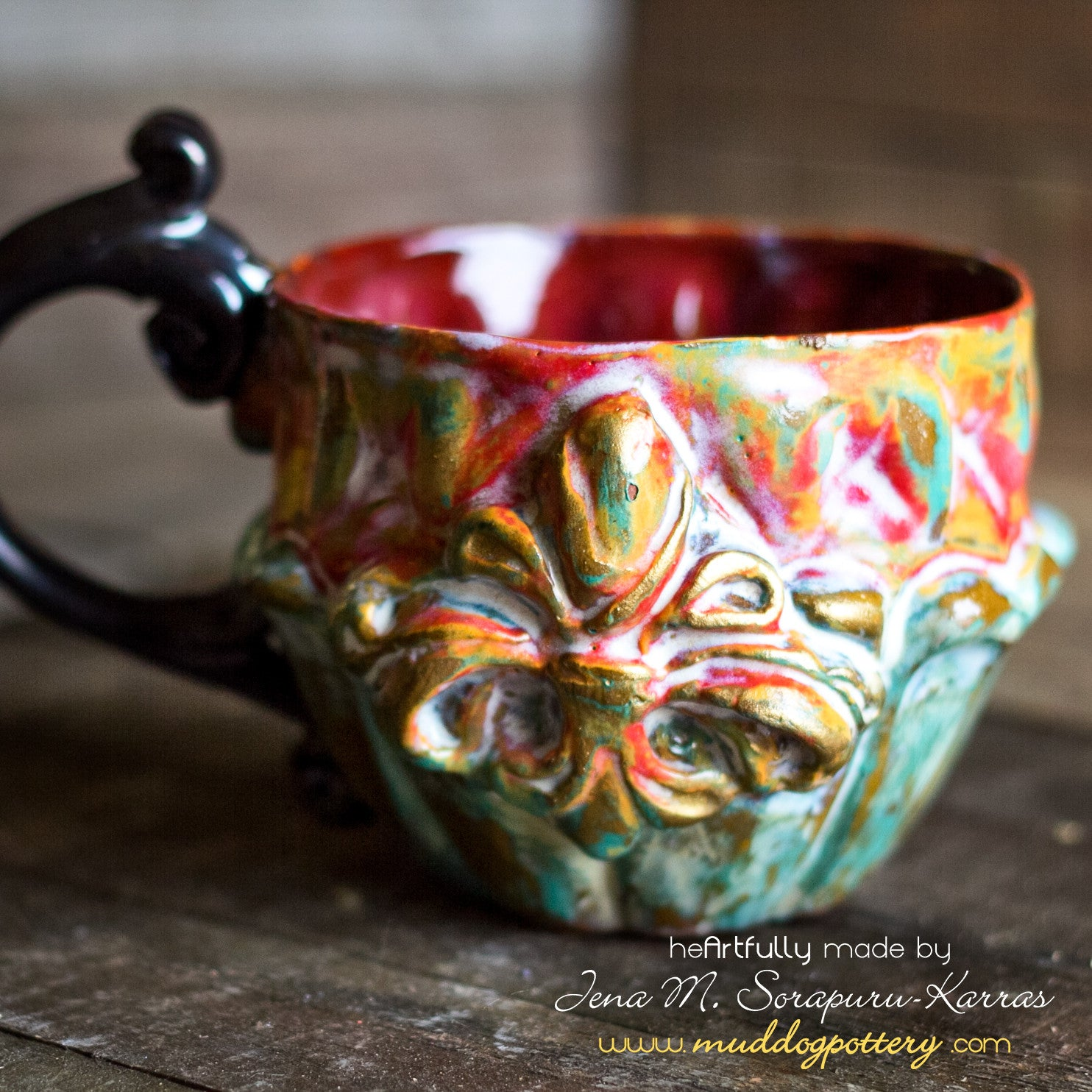 The Creole House Teacup (piti)