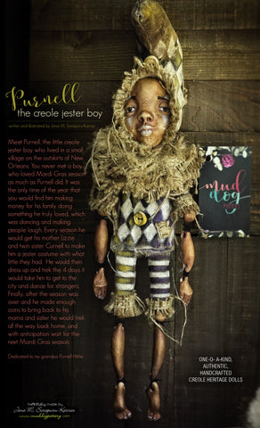 Purnell (Creole Heritage Art doll) Limited Edition