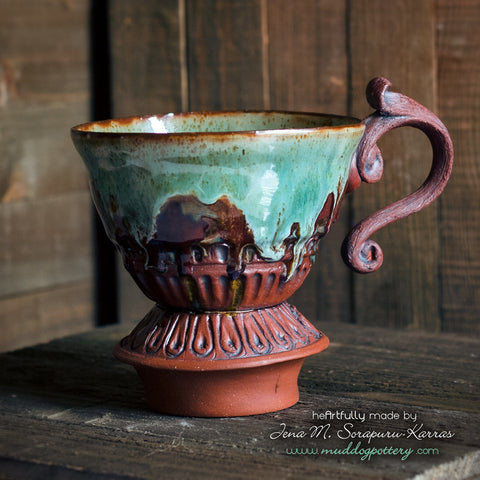 Louisiana Iris Coffee Funnel ( The Creole Courtyard Collection )