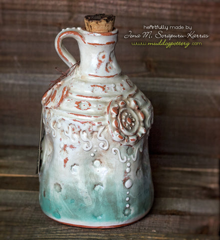 Southern Charm Whiskey Jug [Turquoise]