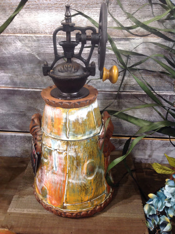 Creole Courtyard Coffee Grinder