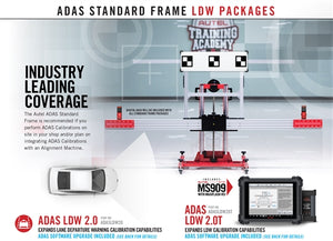 AUTEL'S  2021 ADAS ALL SYSTEMS ADASAS20T WITH MS909 TABLET