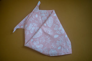 Foliage in Quartz Bandana