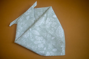 Foliage in Sage Bandana