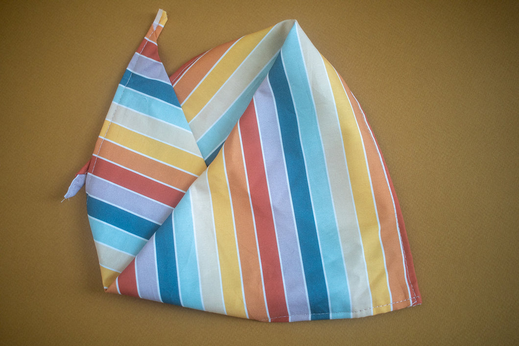 Sunset Stripes Bandana