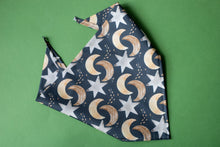 Load image into Gallery viewer, Starlight in Charcoal Bandana