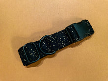 Load image into Gallery viewer, Shimmer in Noir Gold Dog Collar