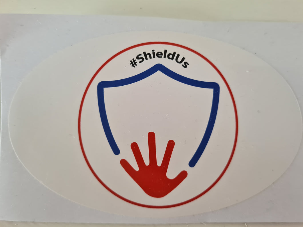 ShieldUs Car Bumper Sticker