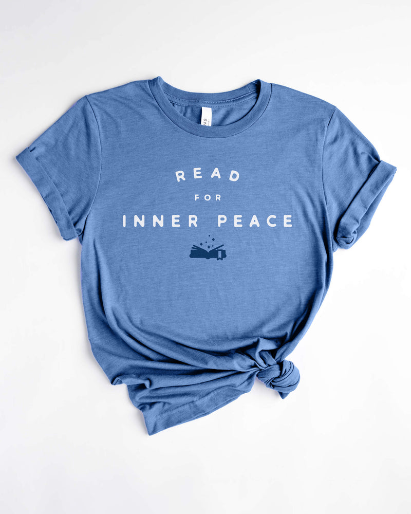 Read for Inner Peace Tee - Inner Peace Tees
