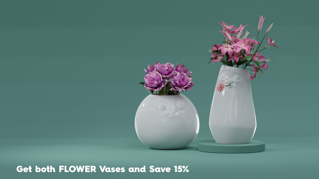 Buy both Flower Vases at discount from FIFTYEIGHT PRODUCTS