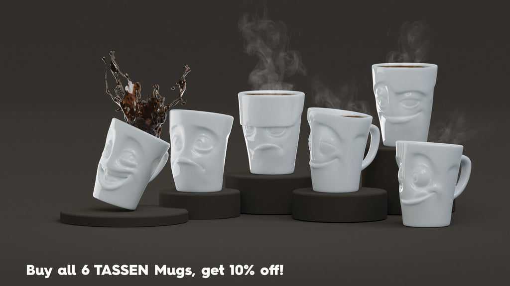 Buy 6 Coffee Mugs at a discount from FIFTYEIGHT PRODUCTS