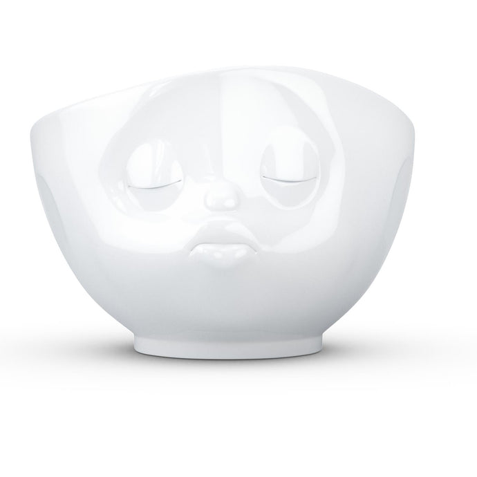 16 ounce capacity porcelain bowl featuring a sculpted 'kissing' facial expression. From the TASSEN product family of fun dishware by FIFTYEIGHT Products. Quality bowl perfect for serving cereal, soup, snacks and much more.