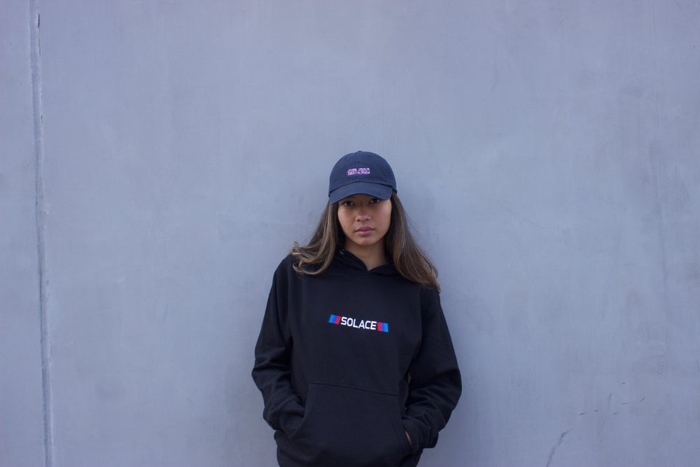Load image into Gallery viewer, M3 Black Embroidered hoodie