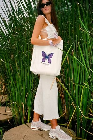 Load image into Gallery viewer, Butterfly Carrie Bag