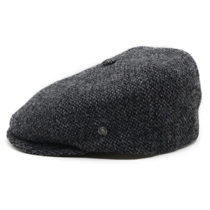 City Sport Pet donker grijs gespikkeld harris tweed