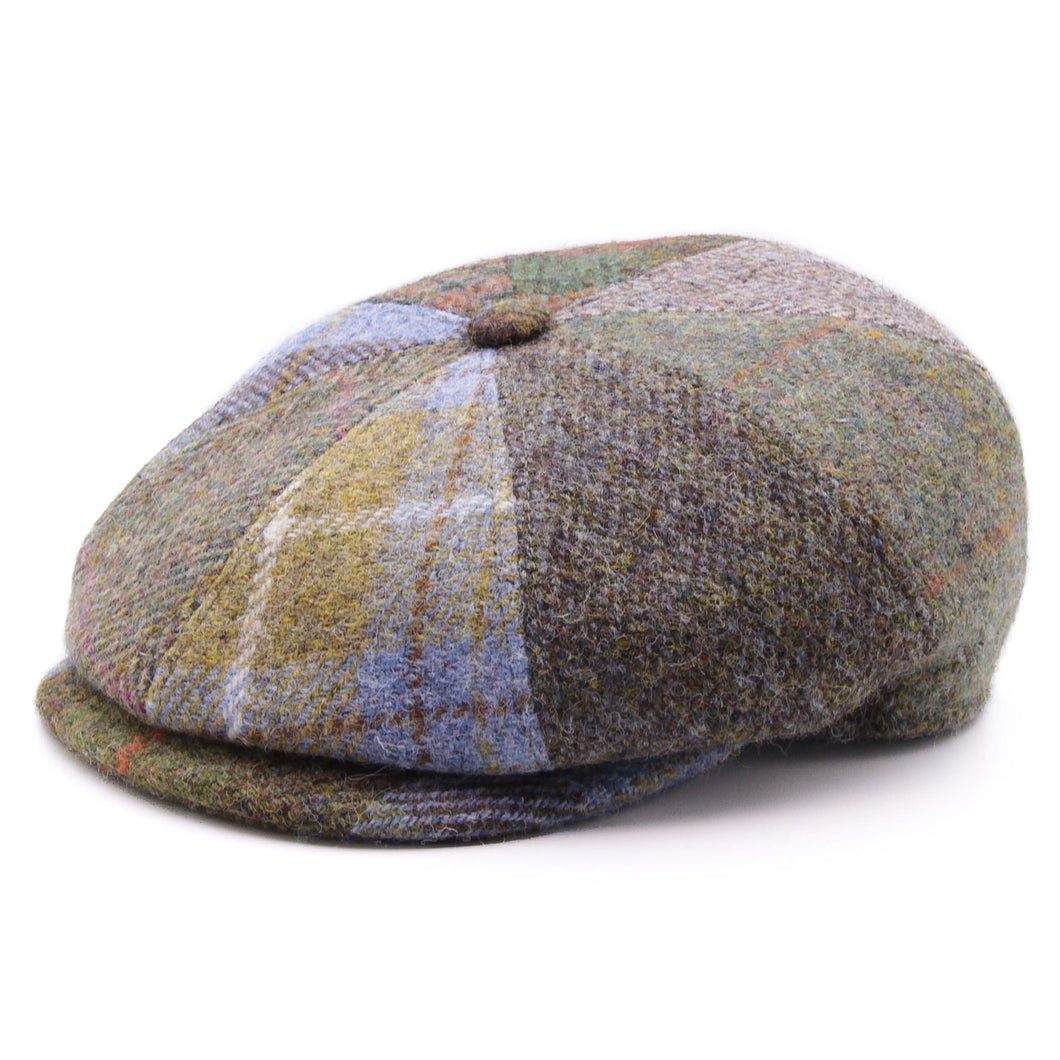 Fiebig Pet multicolor patchwork harris tweed