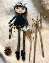 "Load image into Gallery viewer, '""Friendship"" a twig-leg doll"