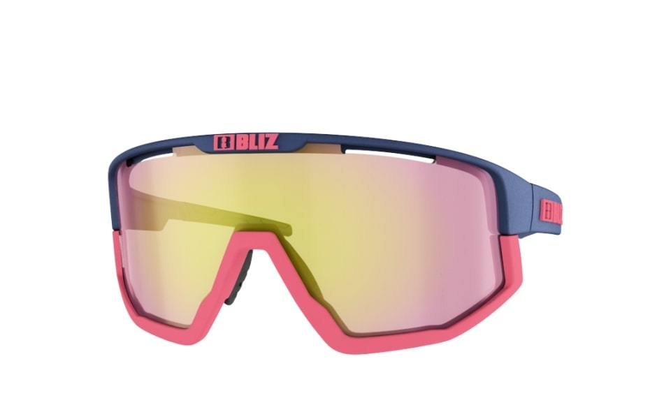 Bliz Fusion Sunglasses Dark Blue Frame