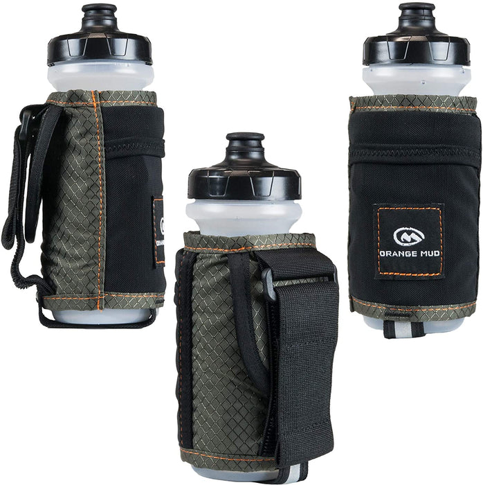 Orange Mud Handheld Hydration Pack Bottle