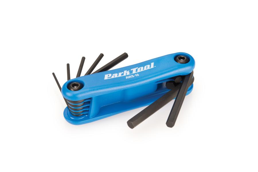 Park Tool Fold-Up Hex Wrench Set AWS-10