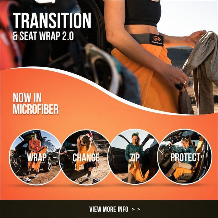 Orange Mud Playtri Transition Wrap Changing Towel and Seat Cover