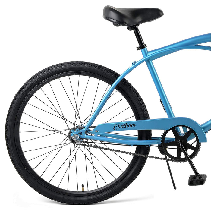 "Retrospec Chatham Beach Cruiser 3-Speed 26"" - Matte Pacific Blue 2021"