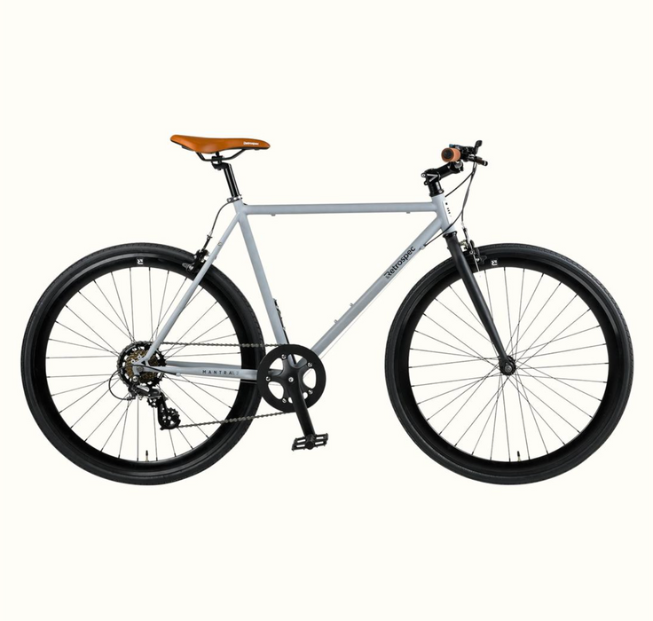Retrospec Mantra-7 Commuter Bike - Matte Gunmetal 2021
