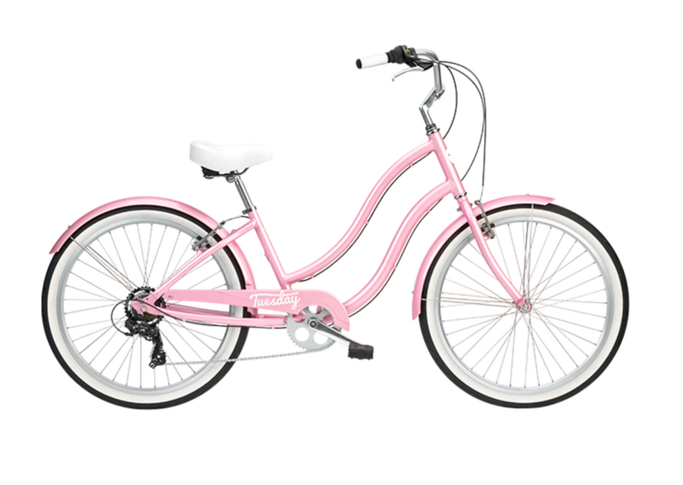 Tuesday Cycles August 7 Low Step - Blush Pink 2021