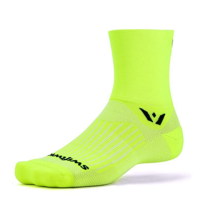 Swiftwick Aspire Four Socks - Yellow