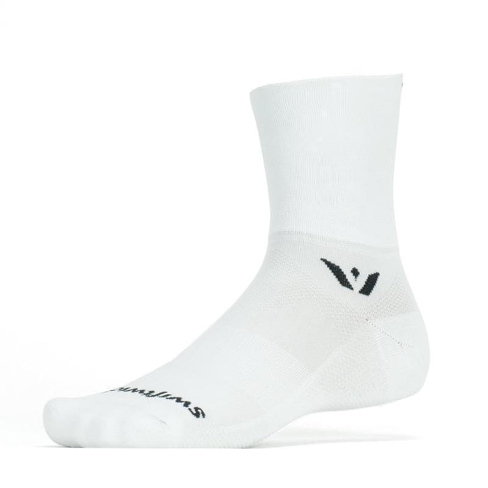 Swiftwick Aspire Four Socks - White