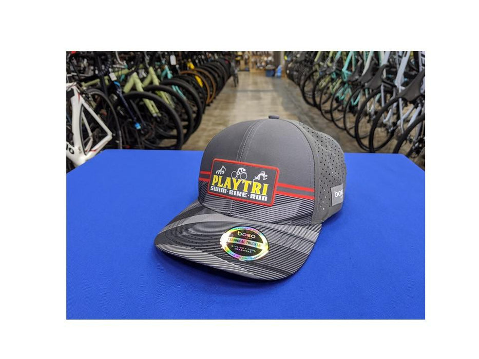 Playtri Trucker Hat Gray