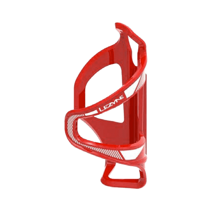 Lezyne Flow Water Bottle Cage SL Right Side Loading Red