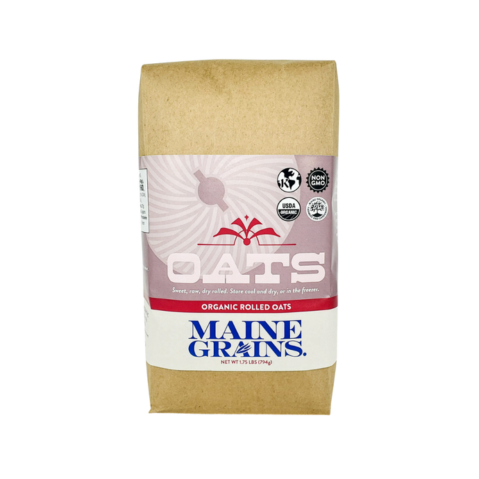 Maine Grains 1.75lbs Organic Rolled Oats