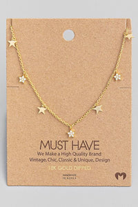 Dainty Star Chain Necklace - Shop Unrivaled