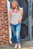 Drew Polka Dot Embroidered Top - Shop Unrivaled