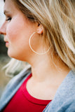 Hammered Dainty Gold Hoops - Shop Unrivaled