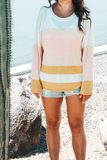 Sarah Striped Lightweight Sweater