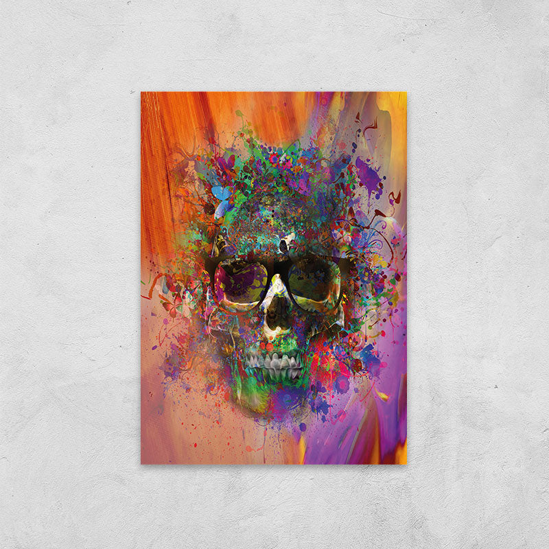 Skull Colorful