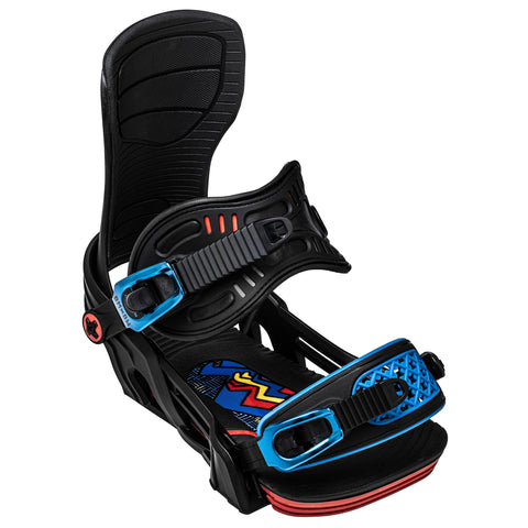 2021 BENT METAL AXTION MEN SNOWBOARD BINDING