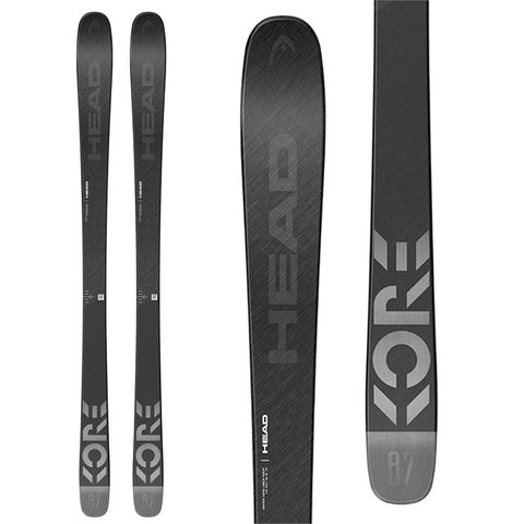 2021 HEAD KORE 87 GREY MEN SKI