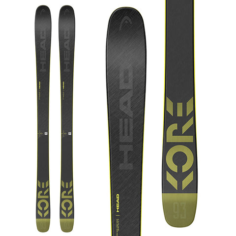 2021 HEAD KORE 93 GREY MEN SKI