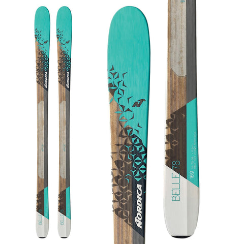 2017 NORDICA BELLE 78 WOMENS SKI
