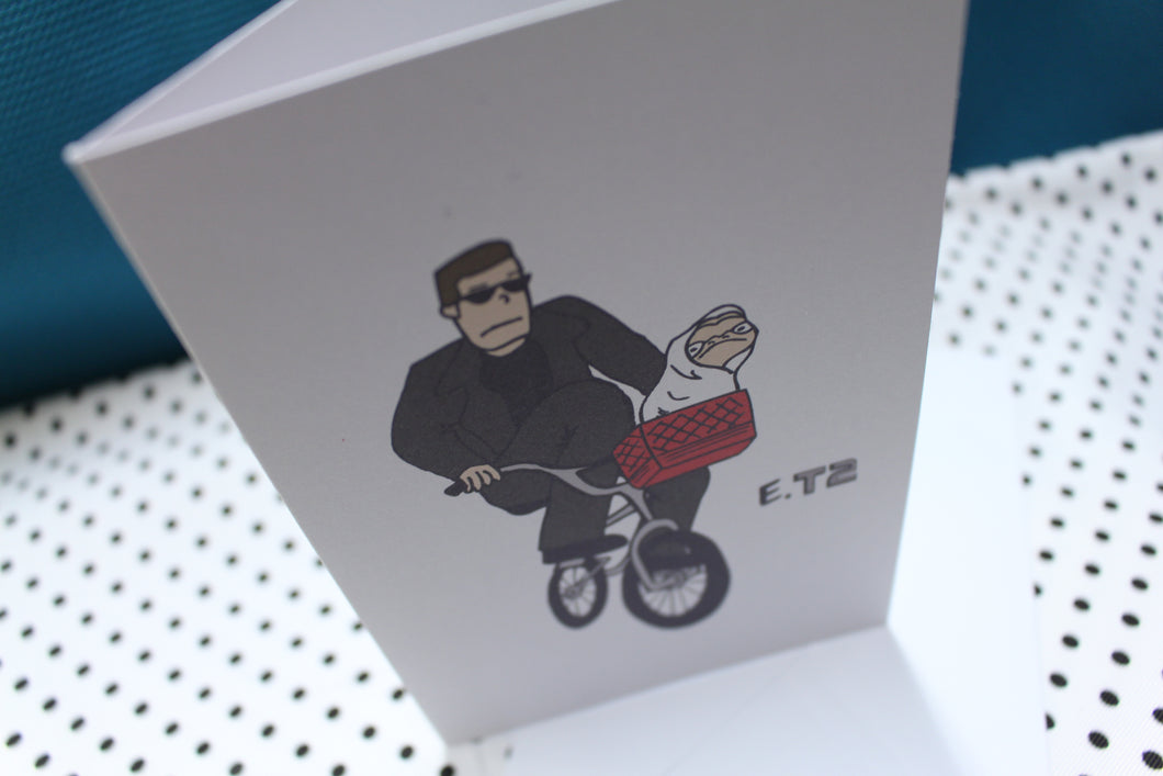 'ET2' Parody Greeting Card