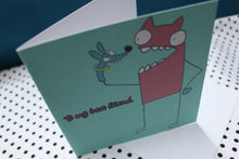 Load image into Gallery viewer, 'Puppet Pal' Greeting Card