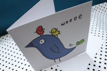 Load image into Gallery viewer, 'Bird Fun' Greeting Card